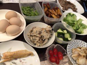 【母飯】糖質制限~タンパク質!アカディ!~