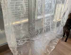 ローラアシュレイのカーテン修理